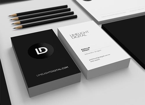 Limelight Digital Business card