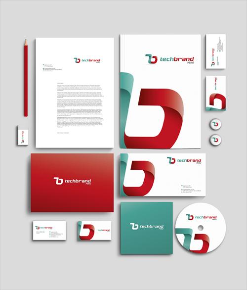 Techbrand Branding letterhead