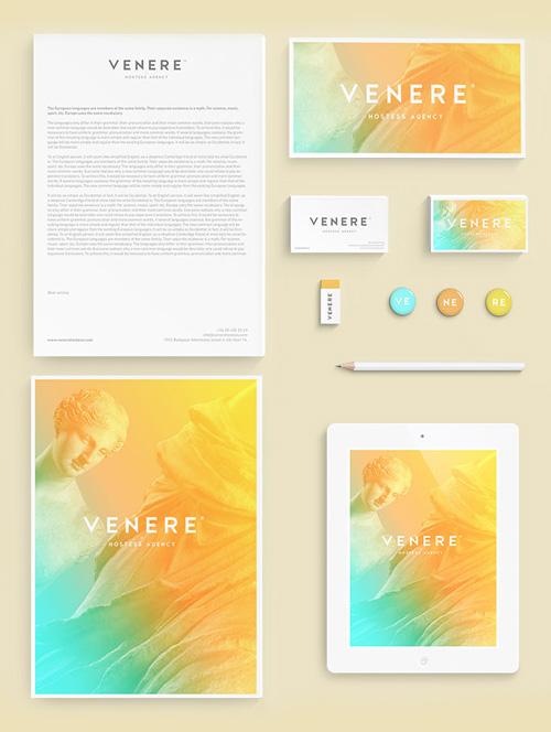 Venere Branding letterhead