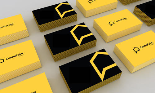 CentrePoint Homes Business card