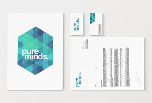Pure Minds Branding letterhead