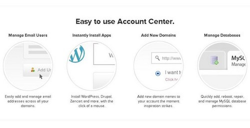 Easy to Use Account Center