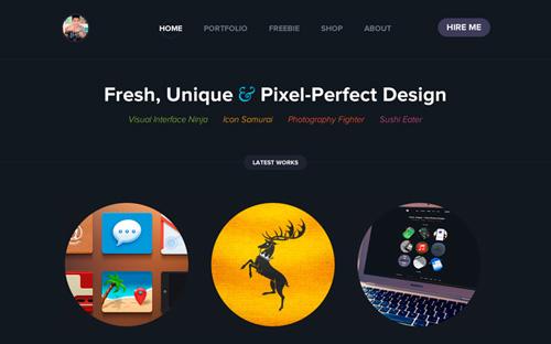 Landing page designs - Minimal Design