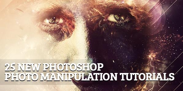 25 New Photoshop Photo Manipulation Tutorials