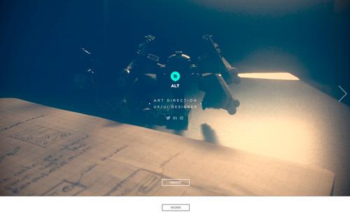 Alt-Graphic One Page Website Design