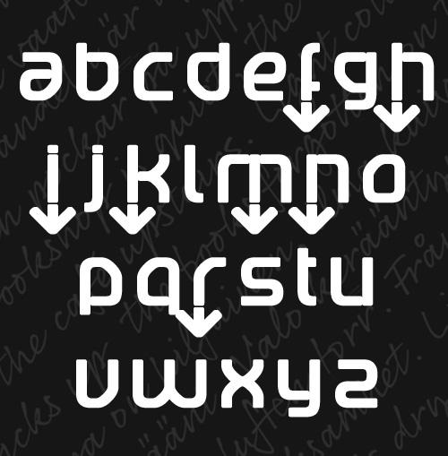 Betaport Fonts Letters