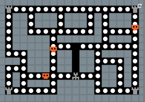 Create 2D Pac Man Game Using HTML5