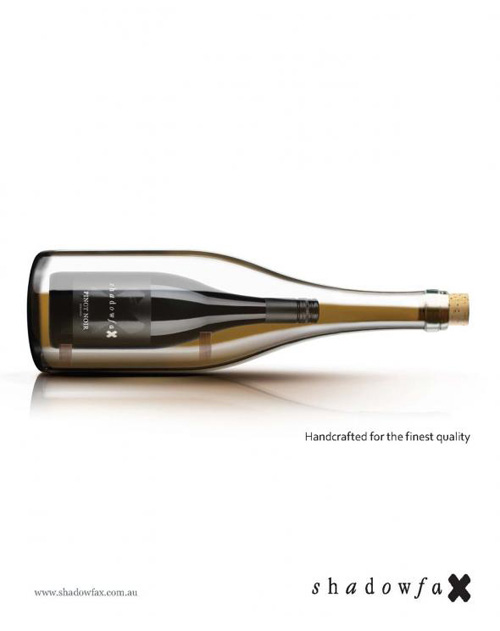 Shadowfax Wines: Handcrafted Print Advertising