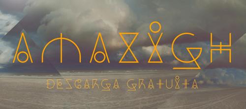 Dos Amazigh Free Font