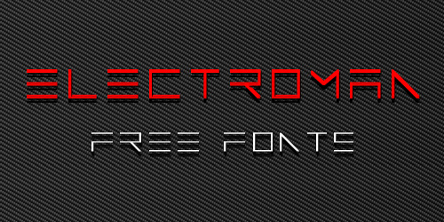 ElectroMan Free Font