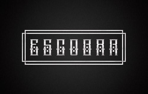 Escobar Free Font