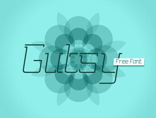 Gutsy Free Font