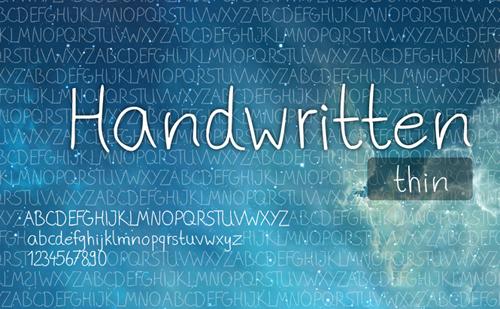 Phitradesign Handwritten Free Font