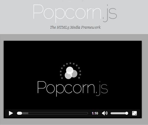 Popcorn.js - A Framework for HTML5 Video