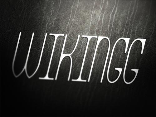 WIKINGG Free Font