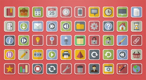 Free Flat Vector Icons
