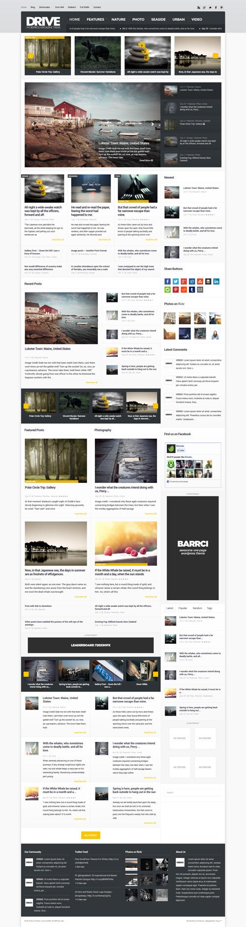 Drive - Premium and Responsive WordPress Magazine