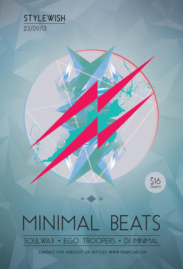 Minimal Beats Flyer
