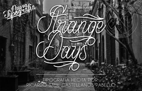 Strange Days Font