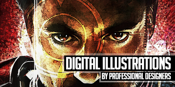 26 Awesome Digital Illustrations by Professional Designers