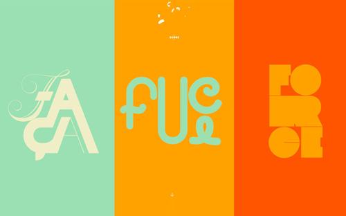 Big typography in website design - 1