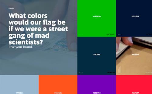Big typography in website design - 3