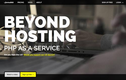 Big typography in website design - 4