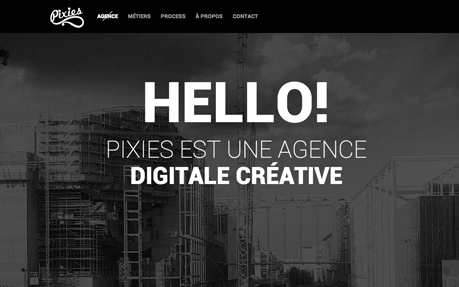 Big typography in website design - 6