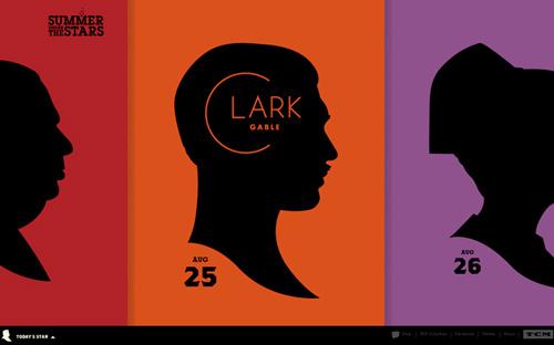 Big typography in website design - 9