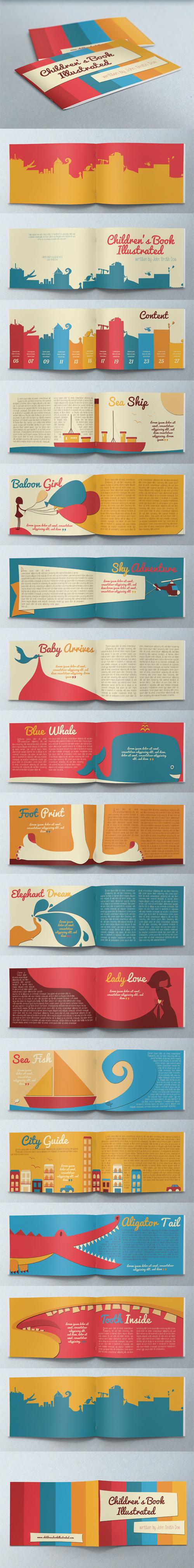 Children's Book Illustrated