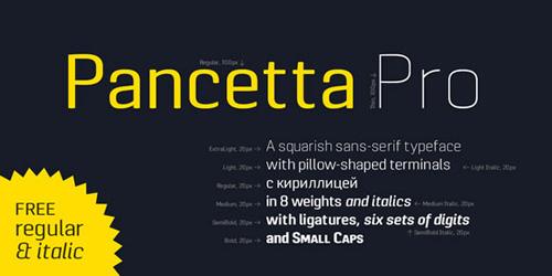 Pancetta Pro Font