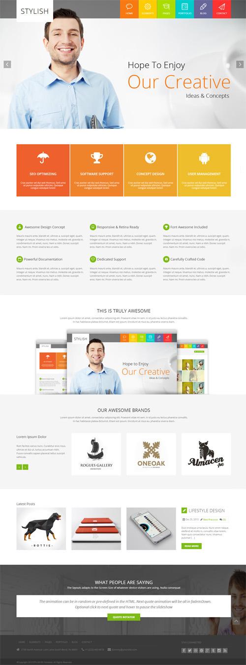 STYLISH – Metro Multi-Purpose WordPress Theme