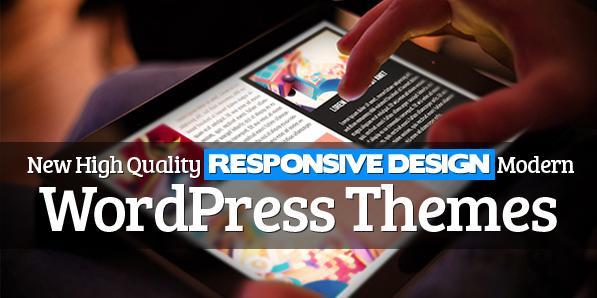 12 New High Quality Responsive WordPress Themes