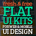Post thumbnail of 15 Fresh Free Flat UI Kits for Web & Mobile UI Design