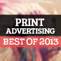 Post thumbnail of Print Advertising Best of 2013