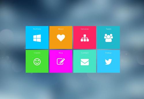 QuickMetro - Responsive Metro Style WordPress Theme