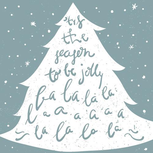 Christmas Carol Vector Graphic