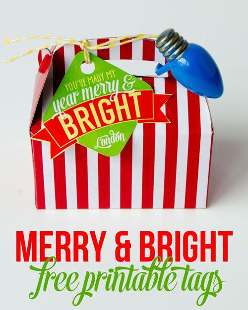 Christmas FREE Printable Neighbor Gift
