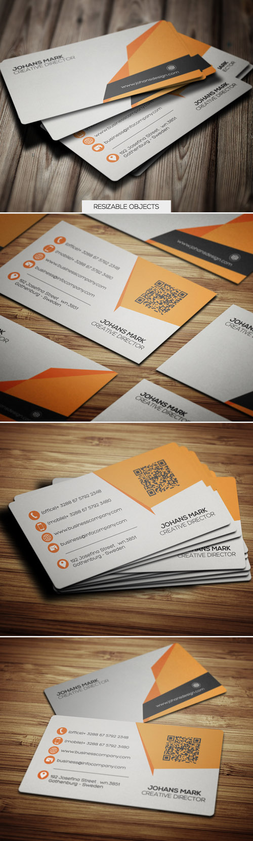 business cards template design - 1