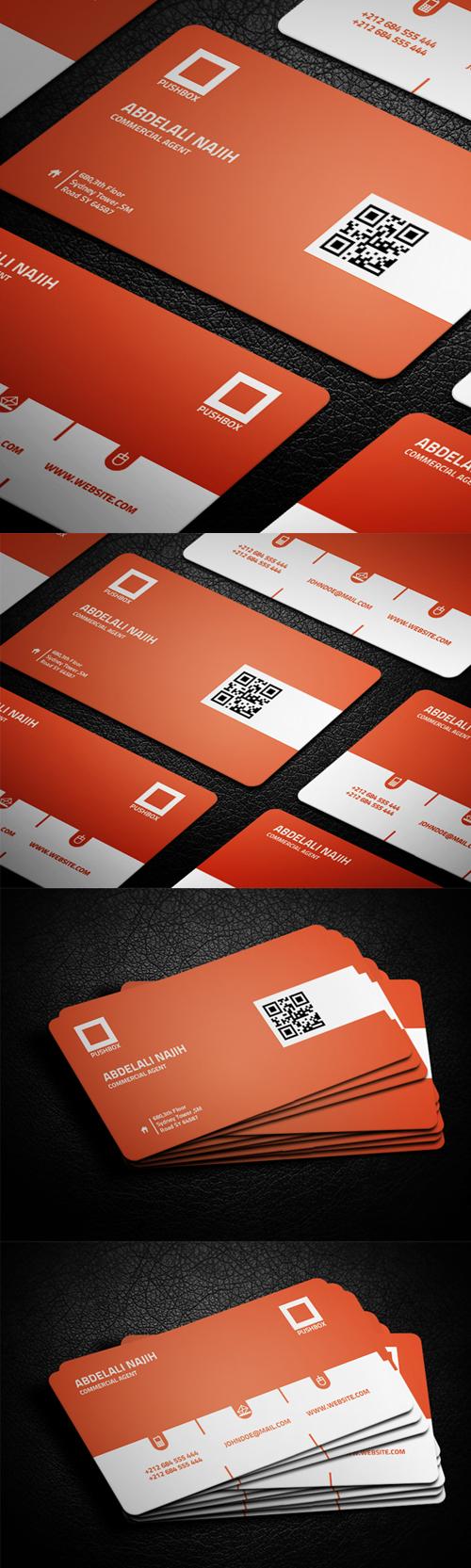 business cards template design - 10