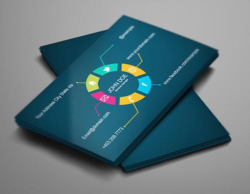 business cards template design - 15