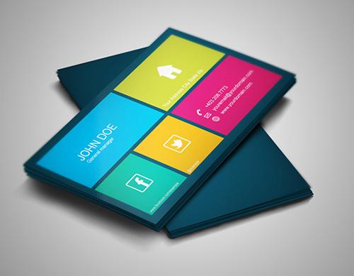 business cards template design - 19