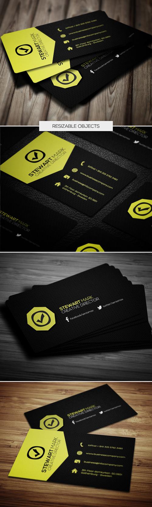 business cards template design - 7