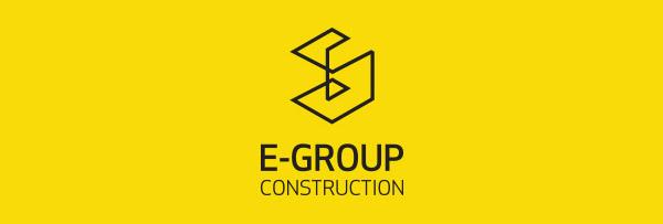 E-GROUP logo design