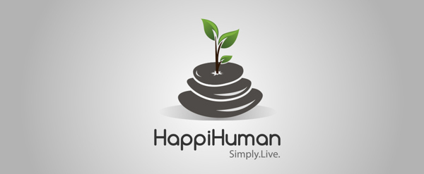 Logo for HappiHuman