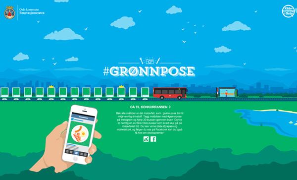 Gronnpose Flat Website Design