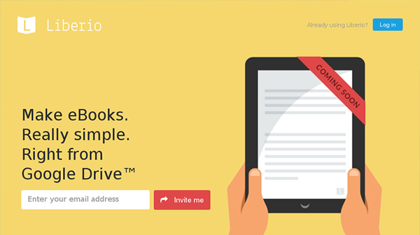 Liberio Flat Website Design