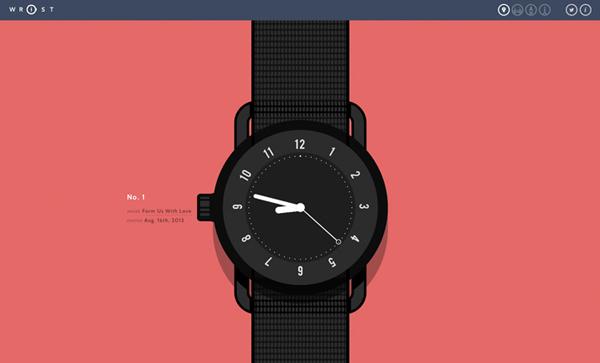 Wrist Flat Website Design
