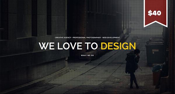 Brooklyn Flat Website Design