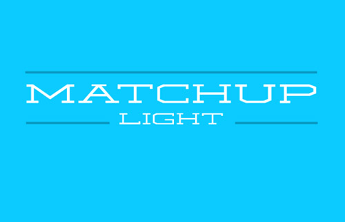 Matchup Light free fonts of year 2013